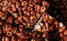 This recipe is for those who love gooey, chocolatey sauce on their puffed wheat squares. Another treat From the Cookie Jar by Maureen Haddock. Puffed Wheat Cake, Puffed Wheat Squares, Mexican Food Recipes, Whole Food Recipes, Cooking Recipes, Cooking Ideas, Cake Recipes, Easy Delicious Recipes, Yummy Food