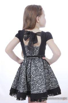 Vestido Infantil Diforini Moda Infanto Juvenil 010787