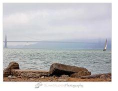 Orlando Photographer| Landscape Photography| Sliwa Studios Photography| San Francisco Bay| Golden Gate Bridge| Fog| Sail Boat| 2010