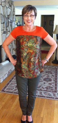 Refashion sewing tutorial: T-shirt make-over by Mary Peterson, 28 Sep 2013