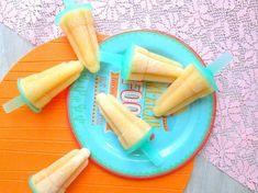 Gezonde ijsjes van vers fruit