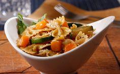 Barilla PLUS Farfalle with Zucchini, Butternut Squash & Pecorino Cheese