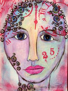 19 Feb 2015 #29faces Art, Art Challenge, Painting, Face Painting
