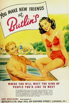 Butlin's Holiday Camps ... so very British.