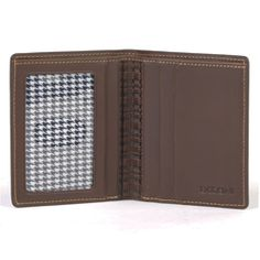 6ff6411472f2 Bryant Compact Wallet in Antiqued Mahogany at Groskopfs Fine Luggage and  Gifts RFID Protecting! italian