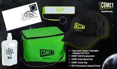 GIVEAWAY: Comet TV Solar Eclipse prize pack