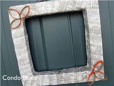 Condo Blues: Telephone Book Wreath
