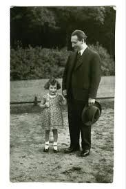 Anne's friend Hanneli with her father