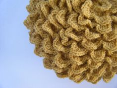 DIY Crochet Pattern: flower pillow round pillow cover by swellamy