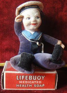 It is my souvenir sailor doll.