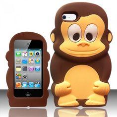 For iPod Touch 4 - Monkey Style 3D Silicon Case - Brown Monkey SCMK Balaji,http://www.amazon.com/dp/B00B9FDCYG/ref=cm_sw_r_pi_dp_nNX1sb1DPVVDH783