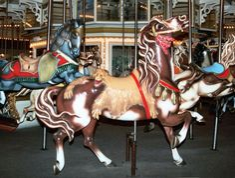 1908 PTC #17 Carousel at Six Flags Over Georgia Austell, GA