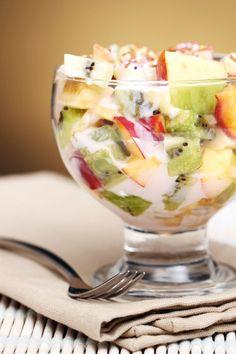 Weight Watcher Pudding Jello Fruit Fluff - Serves 8