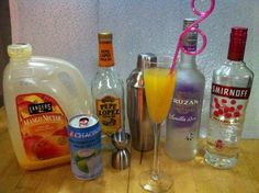 Monday Drink Day! We have barely had a week of snow here and already people are talking about SAD (Seasonal Affected Disorder). Look it up, it will make you sad.   To combat the SAD, today's drink is a bright sunny drink brought to you by the Vitamins A & C & mood helping booze. We are calling this drink the Winters Fist! Cuz it's gonna knock out that SAD, that is, till you sober up.   #DrinkRecipe  #Booze #TripleSec #RaspberryVodka #VanilliaRum #MangoJuice #YoungCoconutJuice #Cookbook…