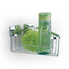 Accesorios de baño LUK sin taladro |Esponjera gel nº 16 Luk adhesivos sin agujeros