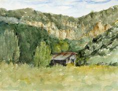 Chiracahua Scene - Watercolor