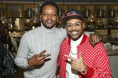 Singer BJ the Chicago Kid and composer Philip Lawrence attend the Annual Los Angeles Chapter Nominee Brunch Celebration at Fig & Olive on January 2017 in West Hollywood, California. Get premium, high resolution news photos at Getty Images Kids Net, Bj The Chicago Kid, West Hollywood, Hollywood California, Net Worth, January 28, Singer, Celebrities, Fig
