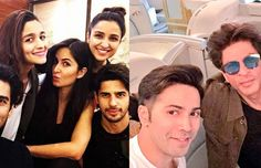 Caught: Alia Bhatt, Sidharth Malhotra, Parineeti Chopra, Katrina Kaif And Aditya Roy Kapur In One Frame!