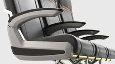 Zodiac Slimplus Aircraft Seating by ID Group, Inc., via Behance