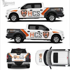 Design a powerful eye catching wrap for HCS restoration work trucks! by dhuhayu88