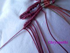 ΕΝΑ ΙΔΙΑΙΤΕΡΟ ΣΧΕΔΙΟ   kentise Macrame Art, Macrame Tutorial, Textiles, Macrame Bracelets, Handmade Bags, Projects To Try, Crochet, Pattern, Diy