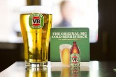 Victoria Bitter: back to its best, apparently. Other beers are available, i. ones that don't taste like petrol. Most Popular Beers, Bitter, Pint Glass, Ale, Victoria, Australia, Beer, Pints, Beer Glassware