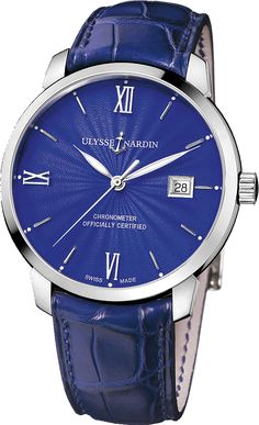The Ulysse Nardin Classico epitomizes the classic dress watch. Slim, elegant, timeless and available with various artisan dials. - IN STOCK As an AUTHORIZED DEALER, we are not allowed to sell new Ulys