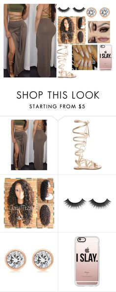 """Untitled #269"" by xoxoryssa ❤ liked on Polyvore featuring Gianvito Rossi, Michael Kors and Casetify"