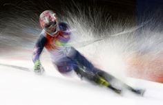 #Sochi2014 Nolan Kasper of the U.S. competes in the first run of the men's Alpine Skiing Slalom event at the 2014 Sochi Winter Olympics at the Rosa Khutor Alpine Center February 22, 2014.