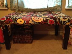 Baby Proof A Coffee Table By Placing A King Size Quilt Over The Table Top  And