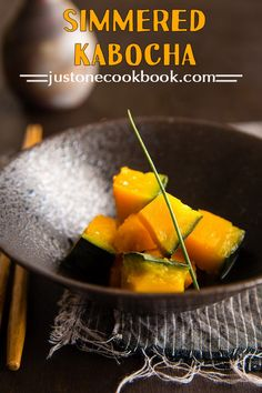 Simmered Kabocha with Shio Koji (南瓜の塩麹煮) | Easy Japanese Recipes at JustOneCookbook.com
