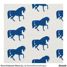 """Horse Polyester Weave (58"""" width) Fabric"""
