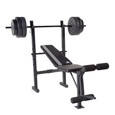 adidas Essential Combo Training Bench with weight Set, 100 lb - Pro Health Link - Health and Fitness Adjustable Weight Bench, Adjustable Weights, Strength Training Equipment, No Equipment Workout, Exercise Tubing, Weight Set, Weight Loss, Weight Benches, Training