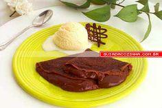 Receita de Panqueca de chocolate