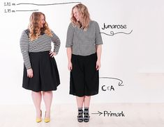1. Same style, different body shape! - Style has No size