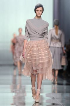 Ballerina elegance at Christian Dior
