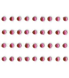 Kaisercraft 3 mm Rhinestone Strips - 4PK - Hot Pink