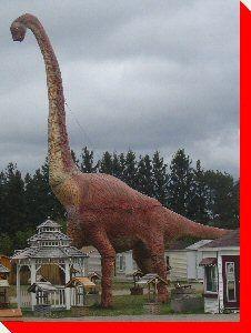 Brontosaurus - Millgrove Park, Ontario