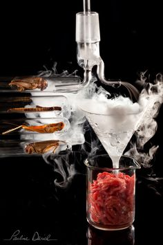L'insteak de demain : le steak in vitro du futur sera élaboré à partir des protéines fournis par les insectes ...