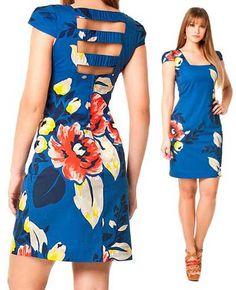 vestidos tubinho florido