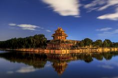 Forbidden City Nightscape by Harrison Zhao on 500px.  Lying at the city center and called Gu Gong in Chinese, it was the imperial palace for twenty-four emperors during the Ming and Qing dynasties. It was first built throughout 14 years during the reign of Emperor Chengzu in the Ming Dynasty (1368-1644).