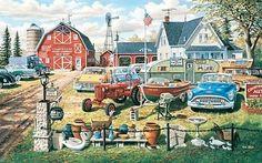NEW A Bumper Crop 550pc Jigsaw Puzzle by Ken Zylla