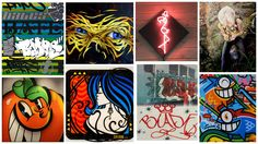Urban artroom with the best graffiti and street art available online. www.urbanartroom.com Best Graffiti, Energy Drinks, Street Art, Urban