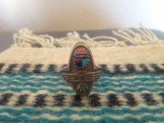 Thunderbird Southwestern Sterling Silver Ring by HerKindVintage, $65.00