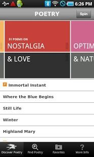 POETRY from Poetry Foundation - ANDROID app
