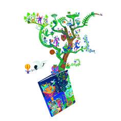 Fantasiens gave til børn og voksne Kender du cykelmyggen Egon, jungledyret Hugo og deres far, Flemming Quist Møller? I Tiger er vi vilde med dem, og derfor har vi sammen med Kunsthal Charlottenborg udgivet bogen Plakatapetet. I 12 billedeventyr fører den dig ind i et forunderligt univers hvor vandpibe- rygende kålorme virker helt naturlige. Og så kan du læse om de kunstnere der har inspireret forfatteren. 100 kroner inklusive to entrébilletter til Kunsthal Charlottenborg.