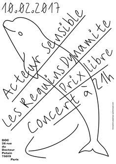 Concert 10.02.2017 Illustration Design Graphique, Graphic Illustration, Illustrations, Poster Layout, Book Layout, Cool Typography, Typography Design, Graphic Design Print, Graphic Design Inspiration