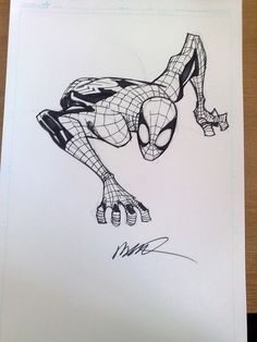 Spiderman by Humberto Ramos