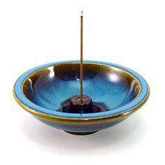 Shoyeido's Oasis Round Ceramic Incense Holder SHOYEIDO http://www.amazon.com/dp/B00IHZJJIO/ref=cm_sw_r_pi_dp_tgAIub18SNNVF
