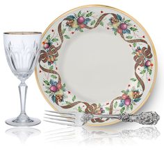 christmas china dinnerware | lenox holiday tartan is a marvelous holiday pattern featuring a ...